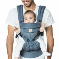 Ergobaby Omni 360 Cool Air Mesh Oxford Blue Lifestyle
