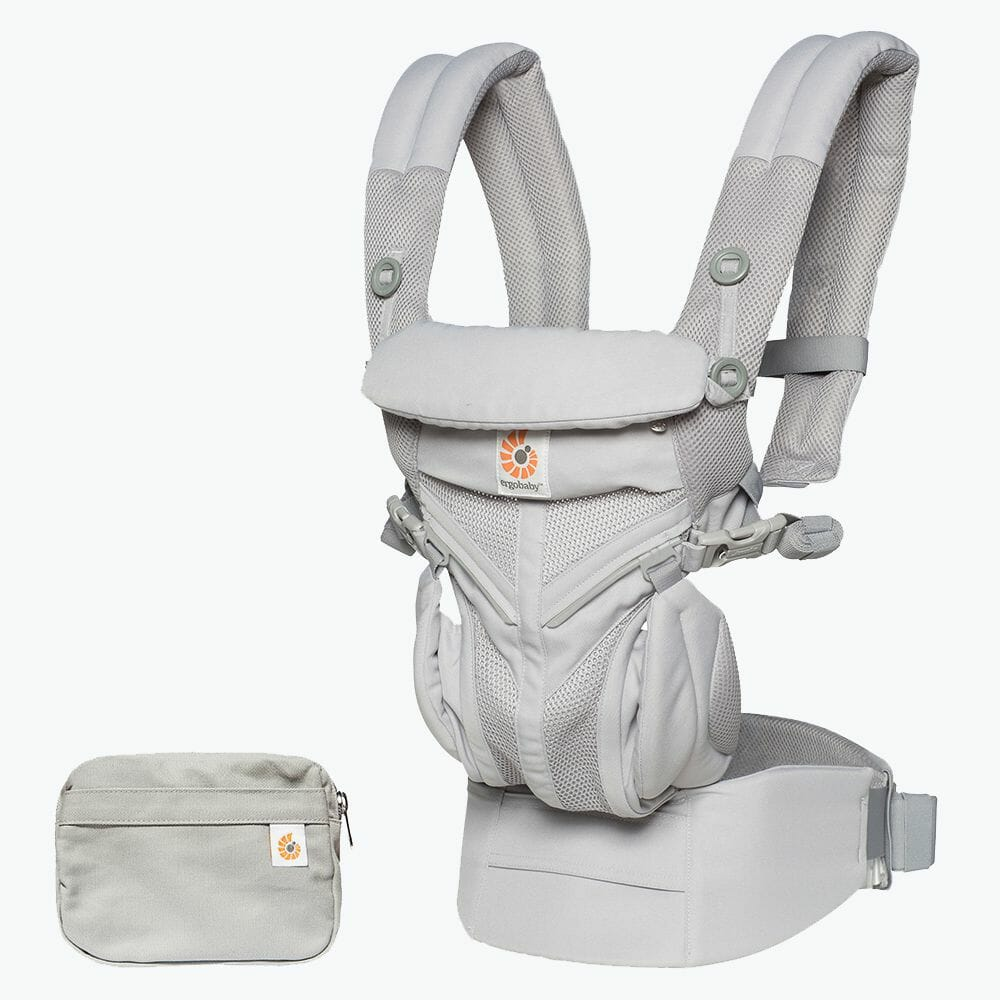 Ergobaby Omni 360 Baby Carrier Cool Air Mesh Pearl Grey