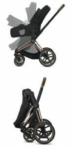 Lite Cot Folds With The Stroller