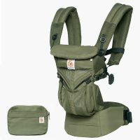 Omni 360 Baby Carrier Cool Air Mesh Khaki Green