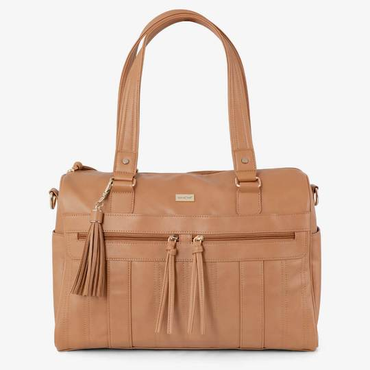 Vanchi Indie Holdall Angle Camel Hero