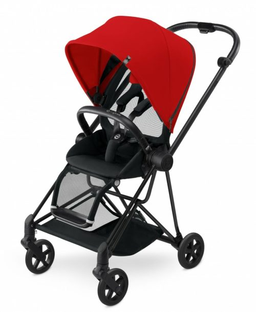 Cybex Mios Stroller (colour Pack) Autumn Gold (black Frame) Clipped