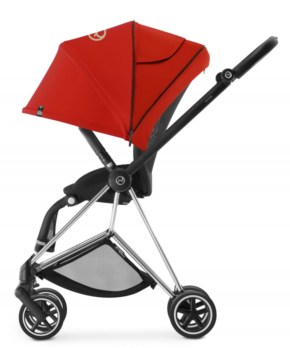 Cybex Mios Stroller (colour Pack Extended Hood) Autumn Gold
