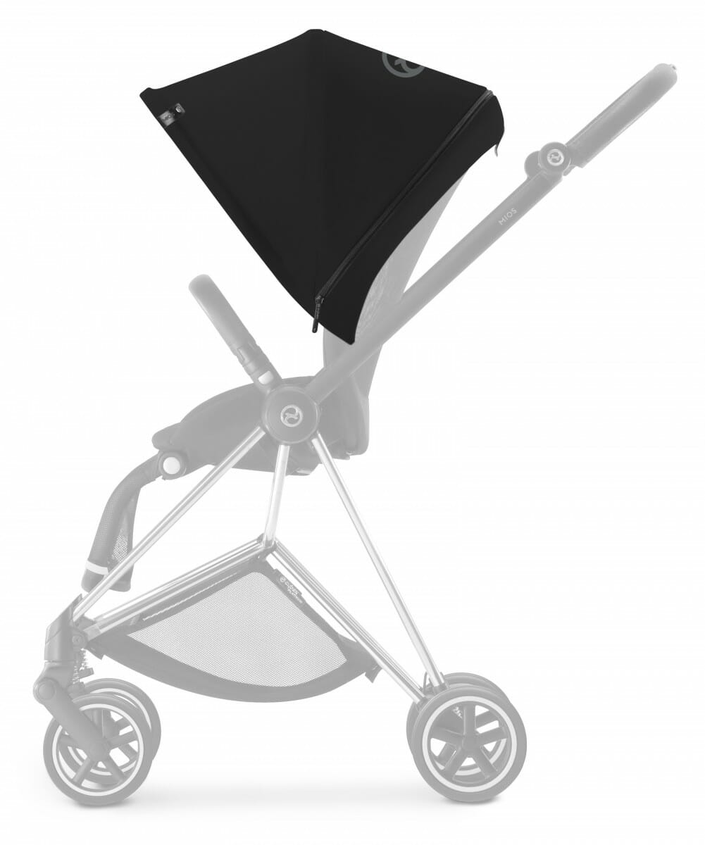 Cybex Mios Stroller (colour Pack Side) Stardust Black