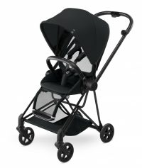 Cybex Mios Stroller (colour Pack) Stardust Black (black Frame) (2) Clipped)