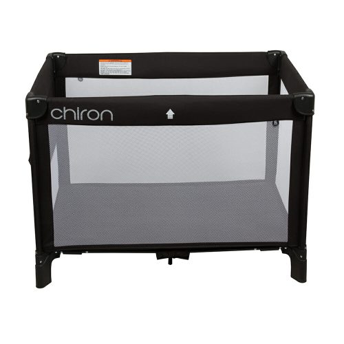 Chiron Travel Cot Black Side
