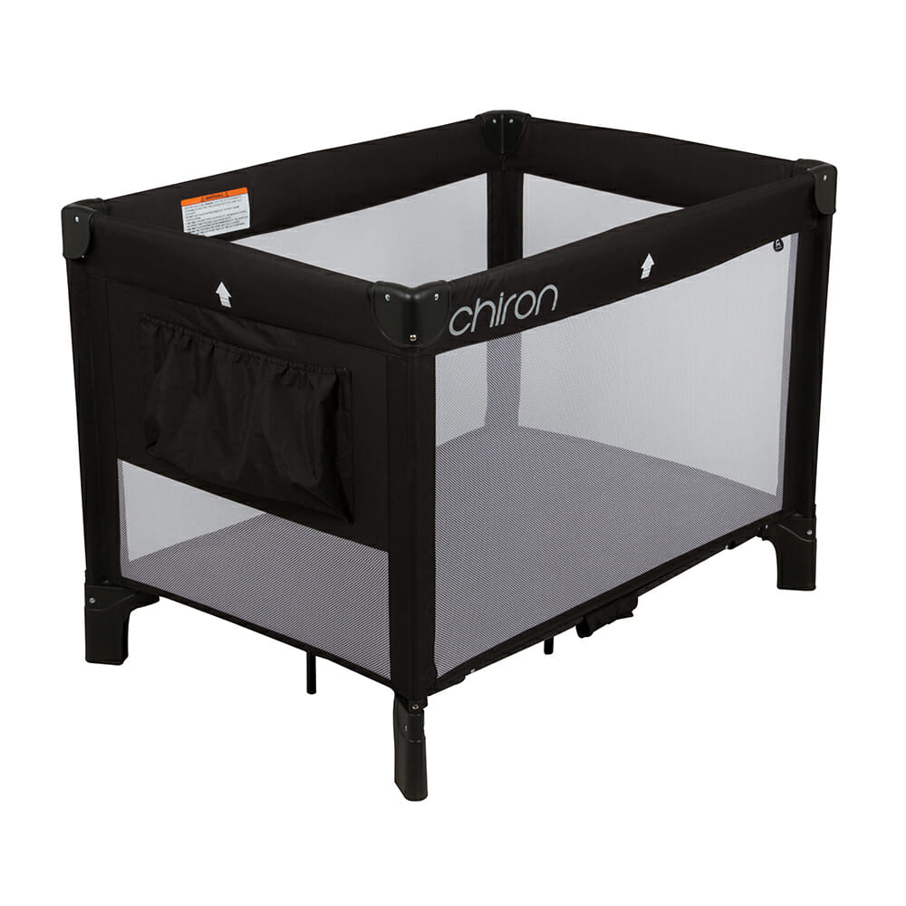 Chiron Travel Cot Black