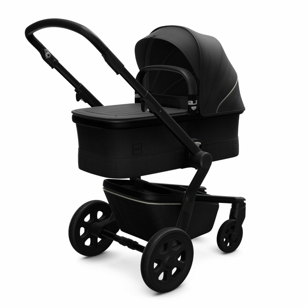 Joolz Hub Cot Brilliant Black Perspective