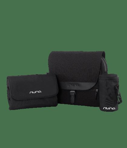 Nuna Daiper Bag Caviar Set
