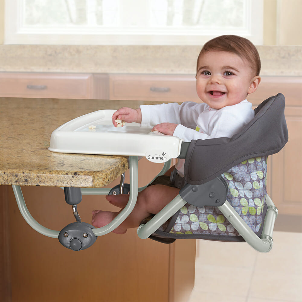Summer Infant Secure Seat Baby At Table
