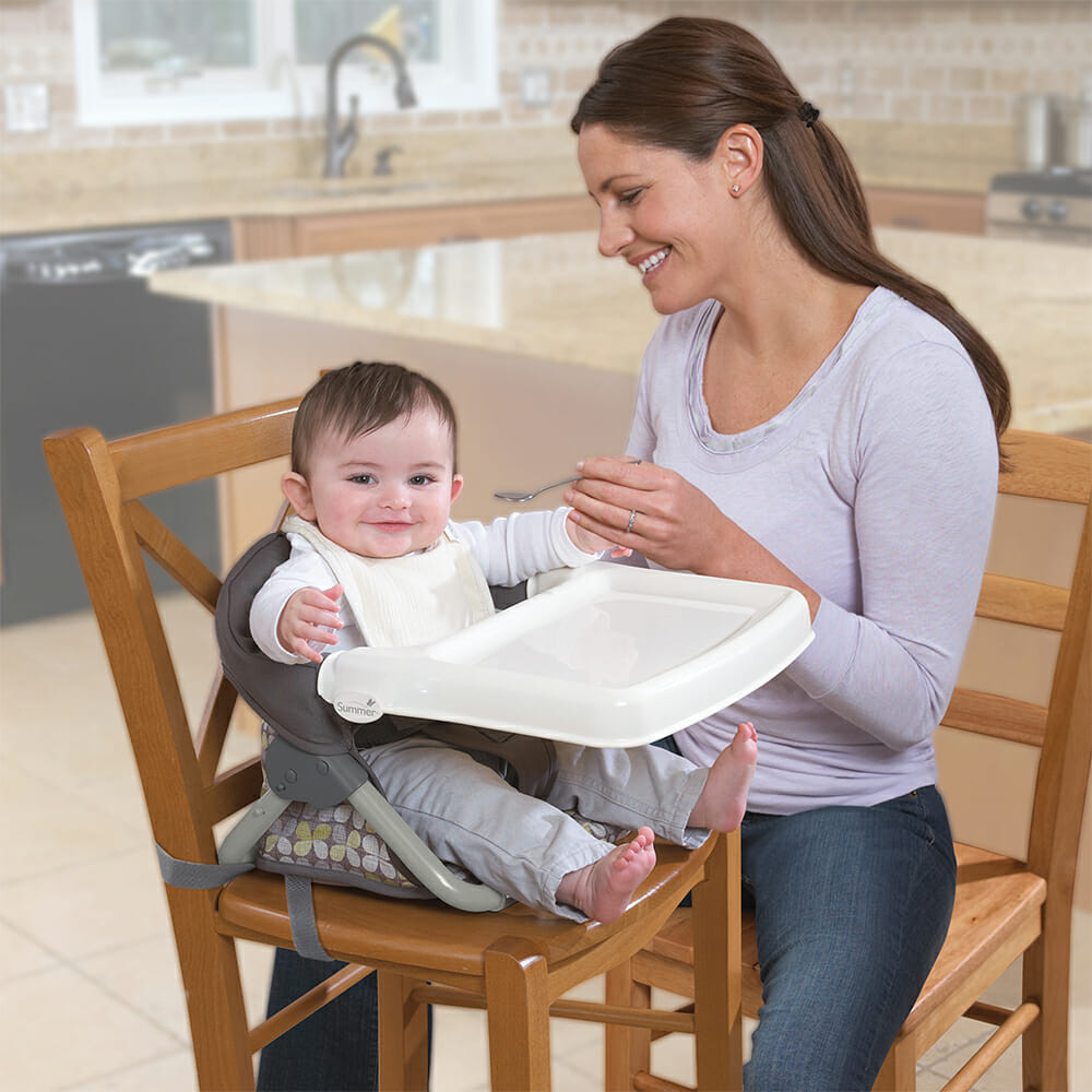 Summer Infant Secure Seat Feeding On Chair
