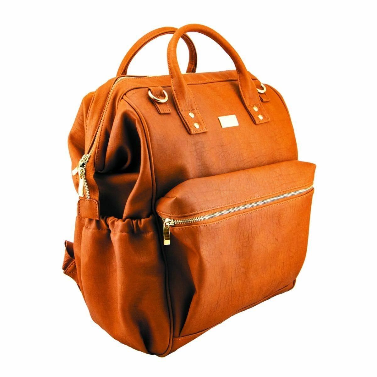 Isoki Byron Backpack Amber Angle