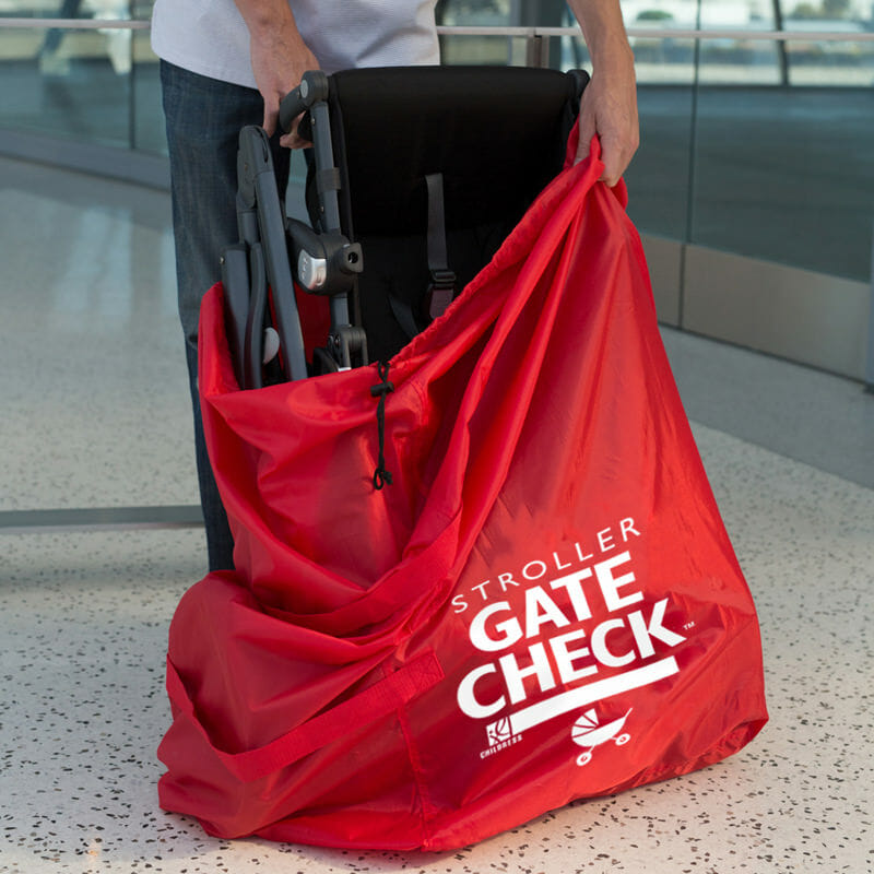 Jl Childress Gate Check Bag For Standard And Double Strollers Lifestyle 2