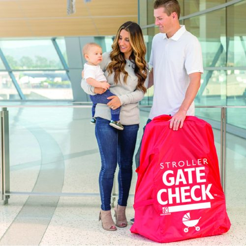 Jl Childress Gate Check Bag For Standard And Double Strollers Lifestyle