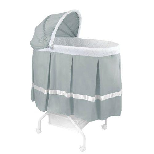 Babyhood Classic Bassinet Grey