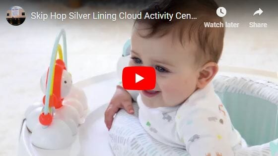 Skip Hop 3 Stage Activity Center – Silver Lining Cloud Video