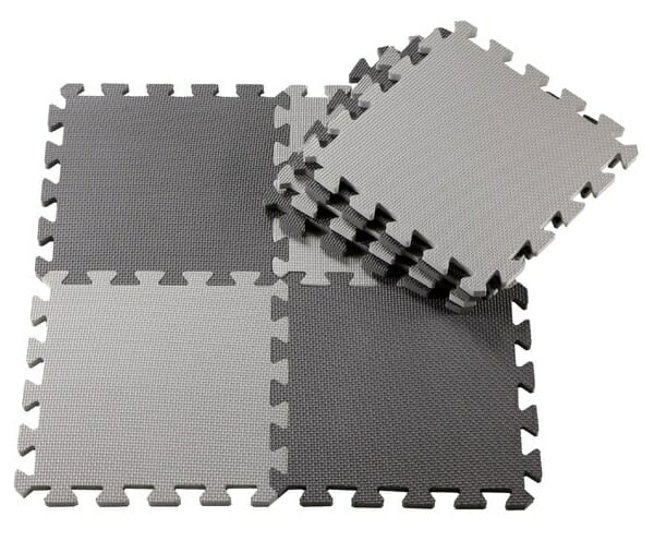 Babyleisure Puzzle Floor Mat Grey