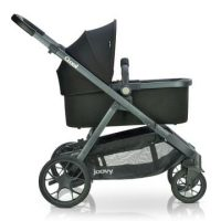 Joovy Qool Bassinet On Stroller Side View