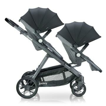 Joovy Qool Second Seat On Stroller Side View