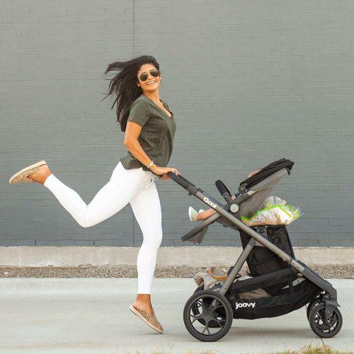 Joovy Qool Stroller Black Milange Lifestyle