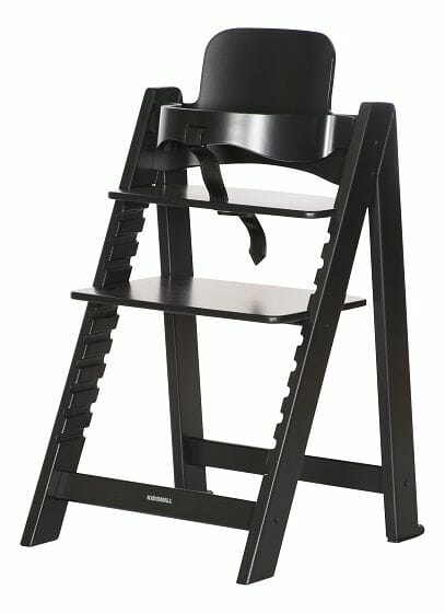 Kidsmill Up Highchair Black