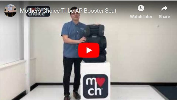 Mothers Choice Tribe Ap Booster Seat Video