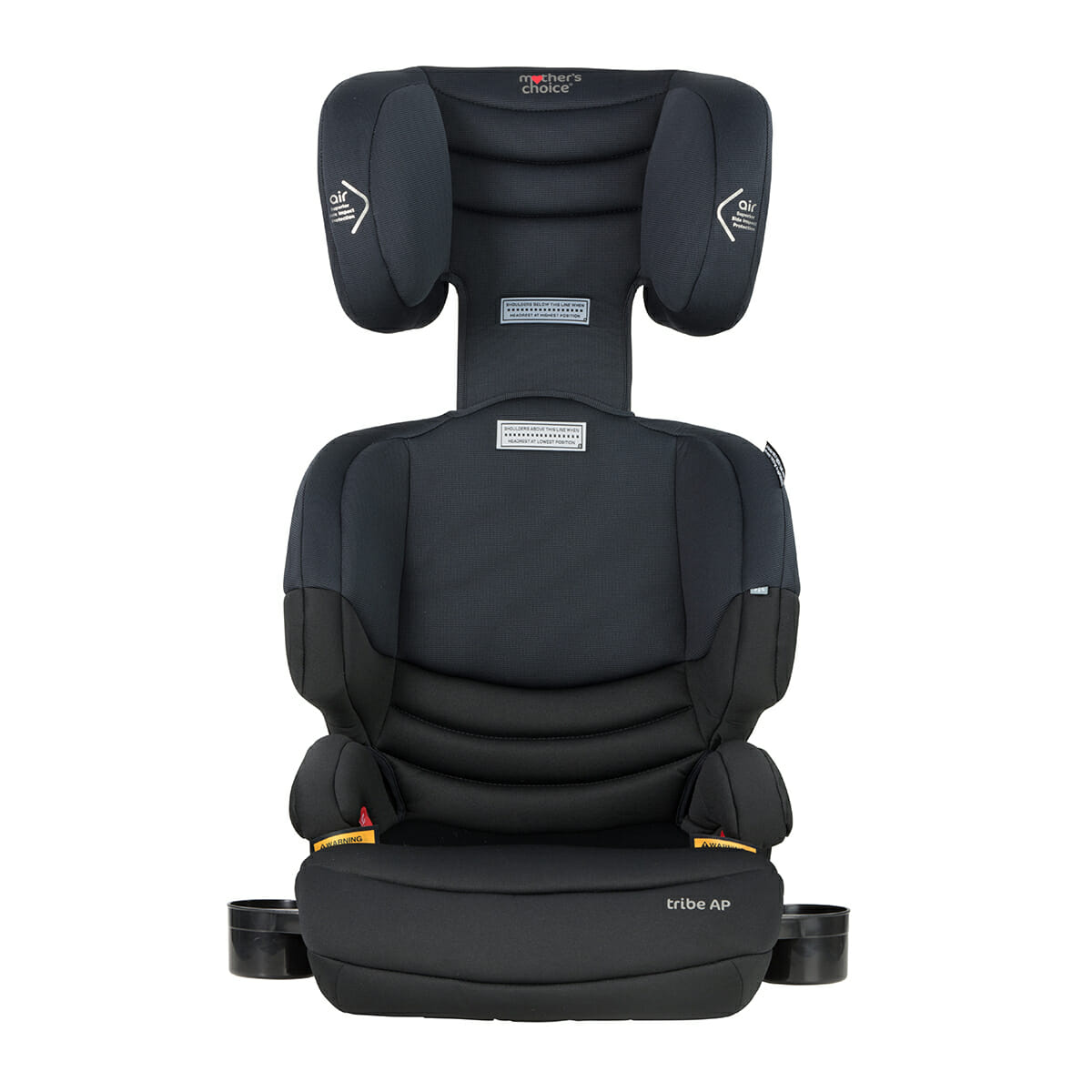 Mothers Choice Tribe Black Space Front Head Rest