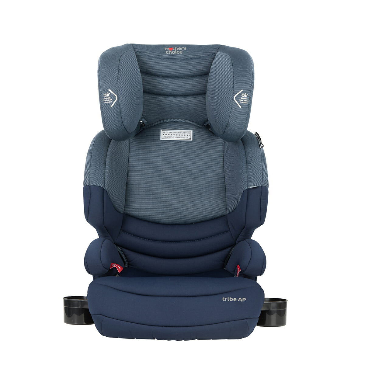 Mothers Choice Tribe Deep Navy Front Cup Holderspx