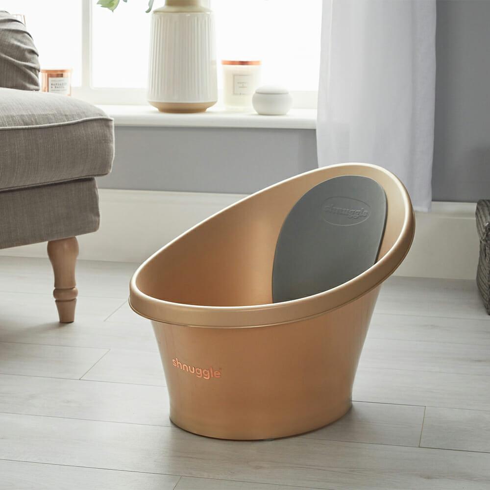 Shnuggle Bath Gold Lifestyle
