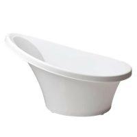 Shnuggle Bath White Side