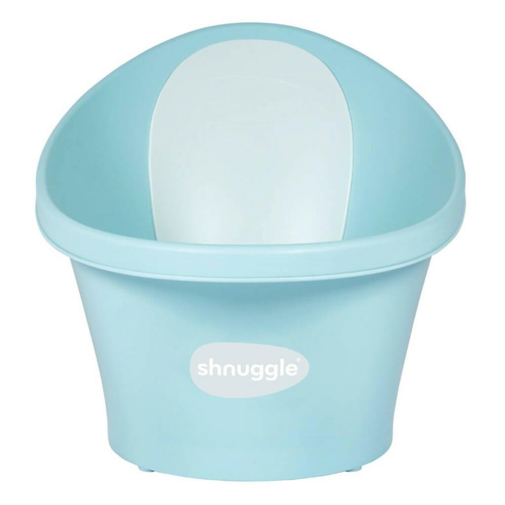 Shnuggle Bath With Plug Aqua