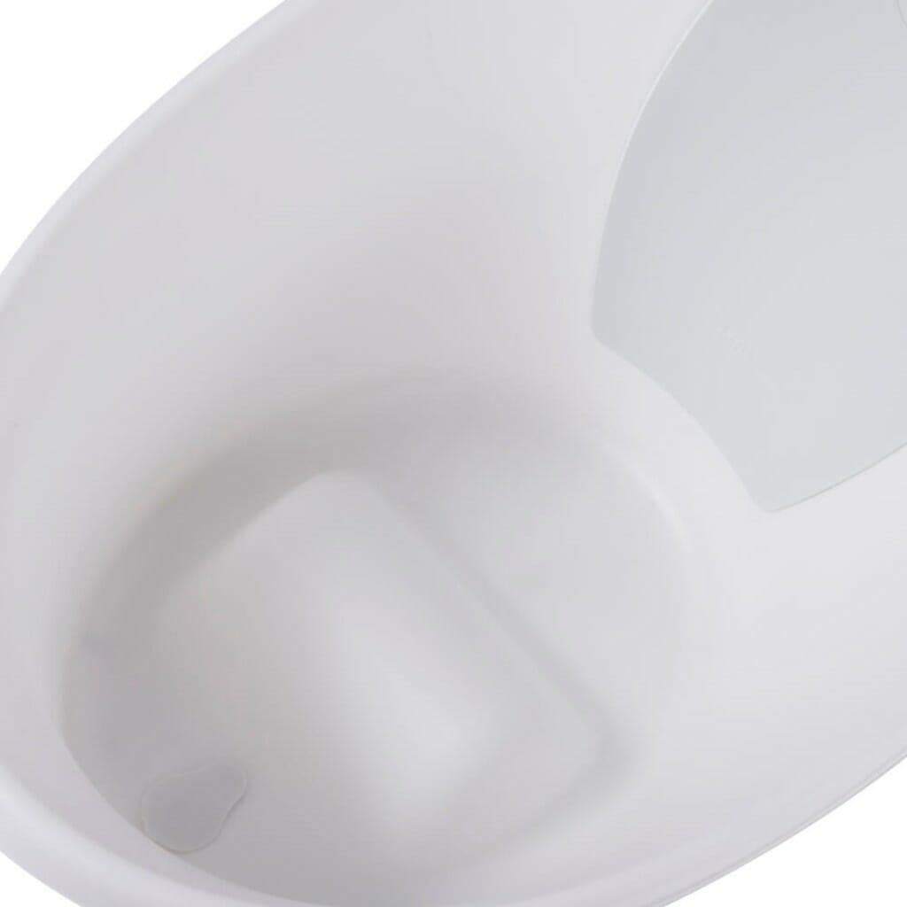 Shnuggle Bath With Plug White Top