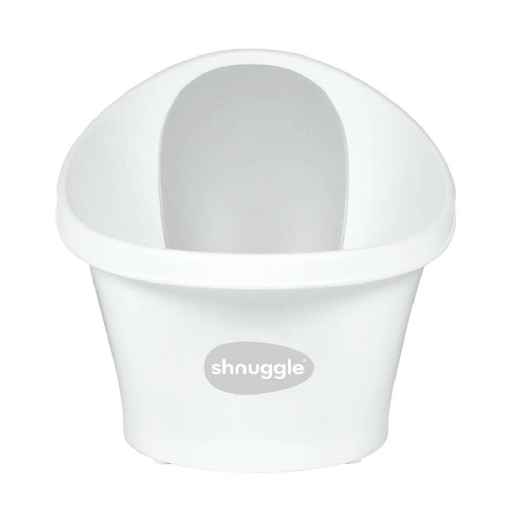 Shnuggle Bath With Plug White