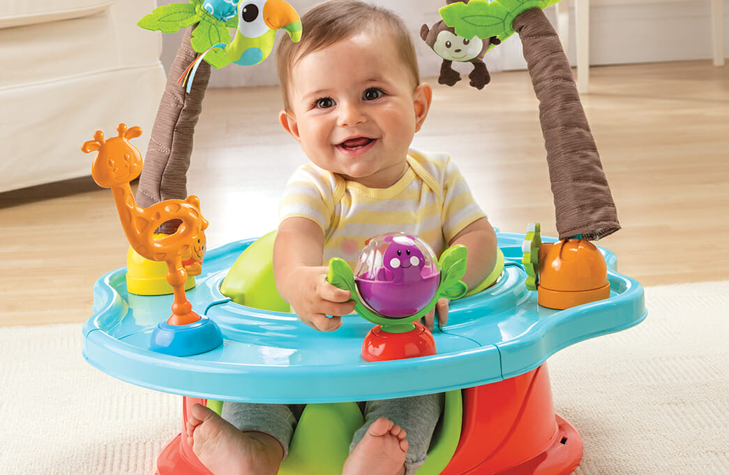 Summer Infant Deluxe Superseat Stage 2 Closeup