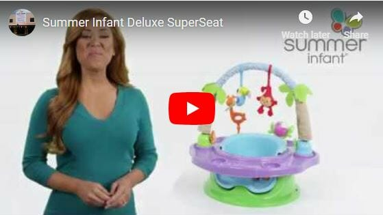 Summer Infant Deluxe Superseat Video