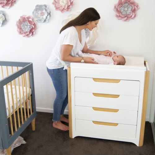 Babyhood Scandi Chest Of Drawers Lifestyle
