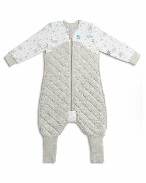 Sleep Suit Warm 2 5 Tog White Flay