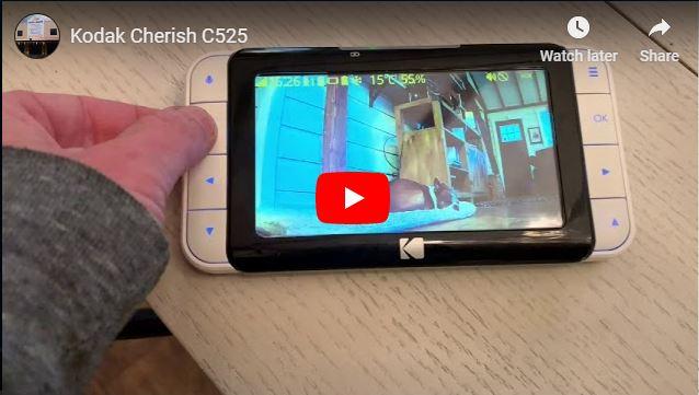 Kodak Cherish C525 Video