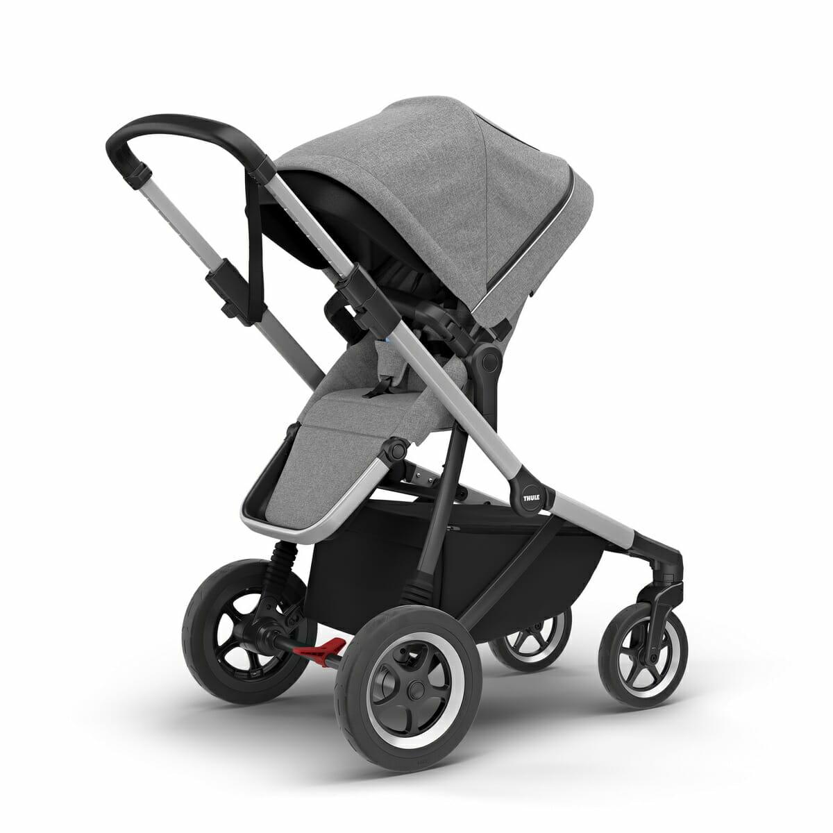 Thule Sleek Reversible Seat Grey Melange 001