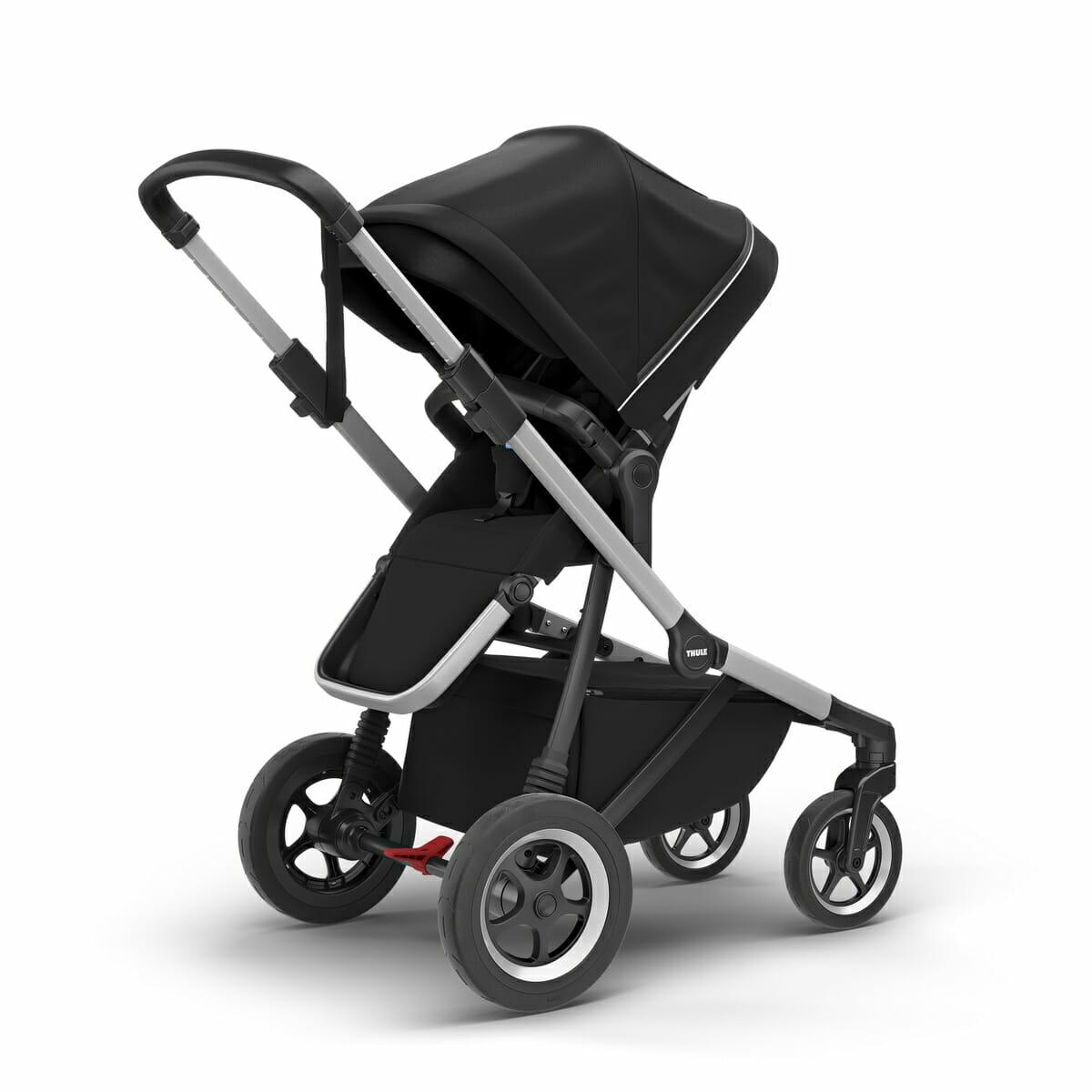 Thule Sleek Reversible Seat Midnight Black 002