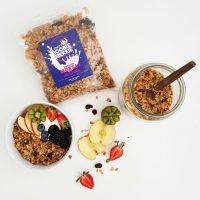 Boobie Brekkie Golden Flax With Apple & Cranberry Servings