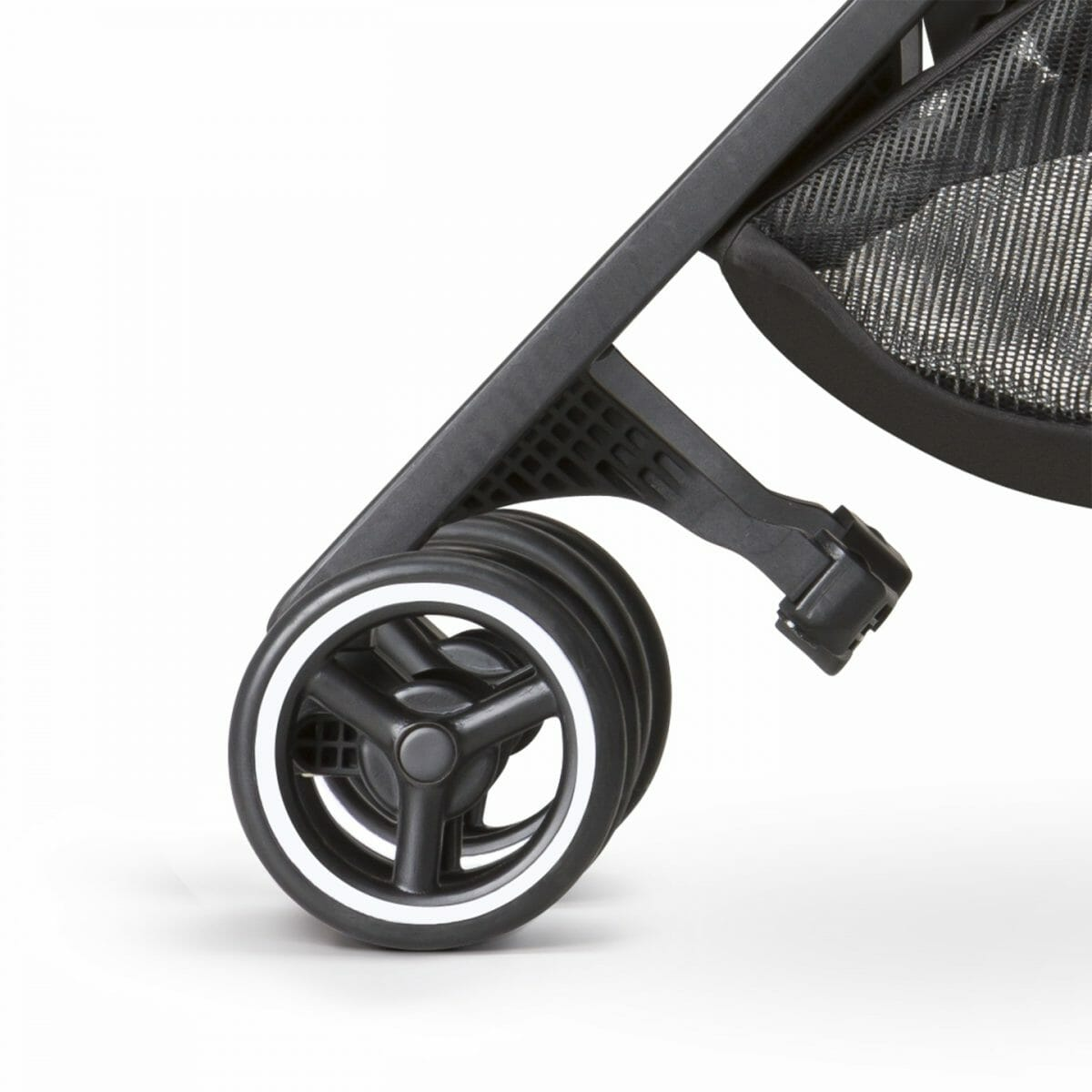 All Terrain Stroller Front Double Swivel Wheels