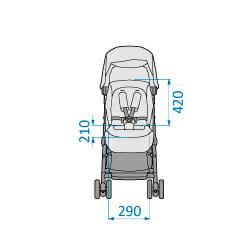 Mc1233 2018 Maxicosi Stroller Lara Internaldimensions 01