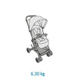 Mc1233 2018 Maxicosi Stroller Lara Weight 01