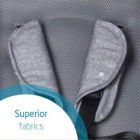 Nomad Grey Fabrics