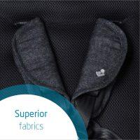 Nomad Black Fabrics