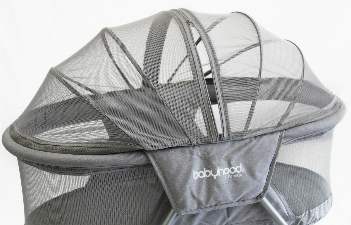 Babyhood Travel Bassinet Closeup