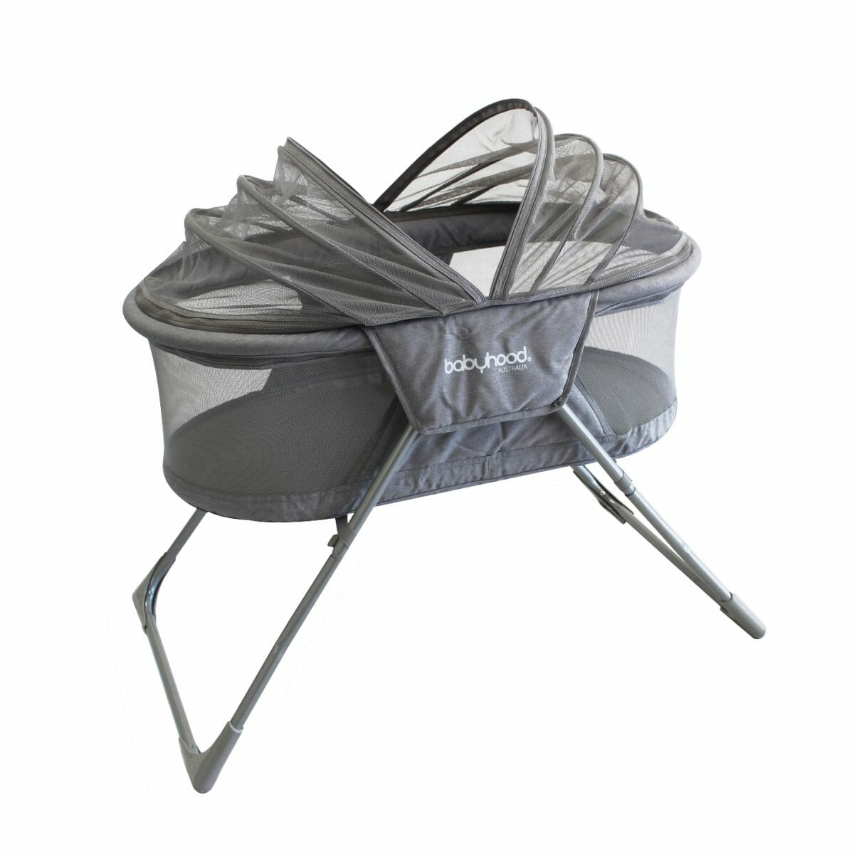 Babyhood Travel Bassinet Shade Opening
