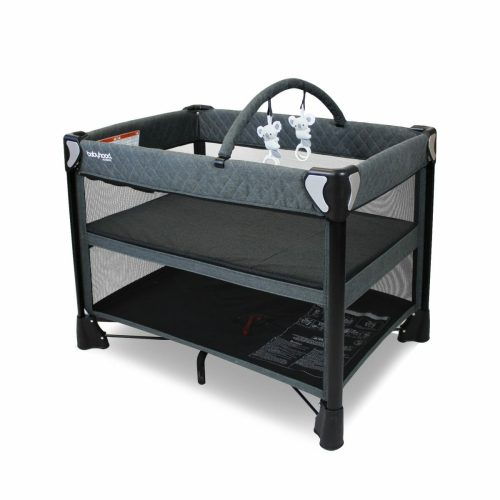 Babyhood Uno 4 In 1 Portacot Bassinet Level Angle With Toybar