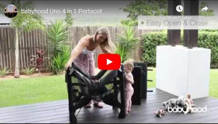 Babyhood Uno Portacot Video